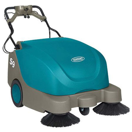Picture of TENNANT S9 LARGE WALK-BEHIND SWEEPER