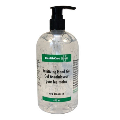 Picture of HEALTHCARE PLUS - 473 ML - HAND SANITIZER