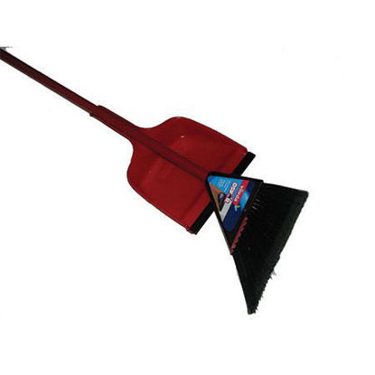 Picture of ANGULAR BROOM WITH DUST HOLDER
