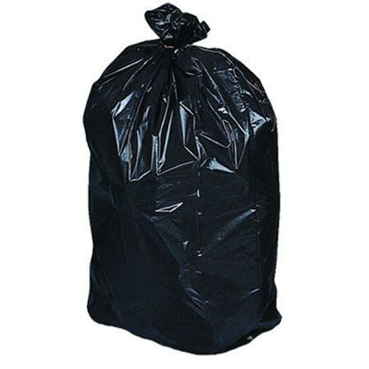Picture of Garbage Bags 26''x 36'' Extra-Strong Black  (125/CS)