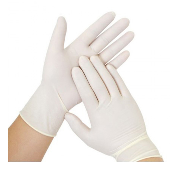 Picture of POWDER FREE LATEX GLOVE - M